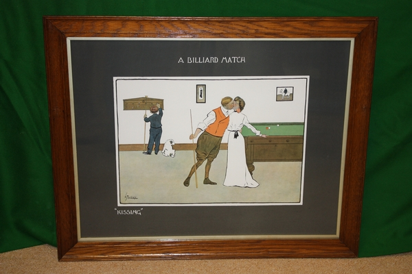 'Thackeray' Billiard Prints