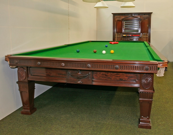 Full Size 'Sir Tom Jones' Billiard Table by Burroughes & Watts