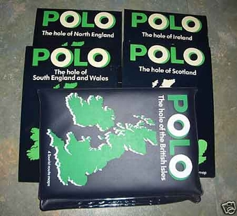 Antique Polo hole of the British Isles 4 tourist maps in mint condition