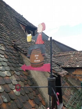 SUPERB RARE FRENCH WEATHER VANE