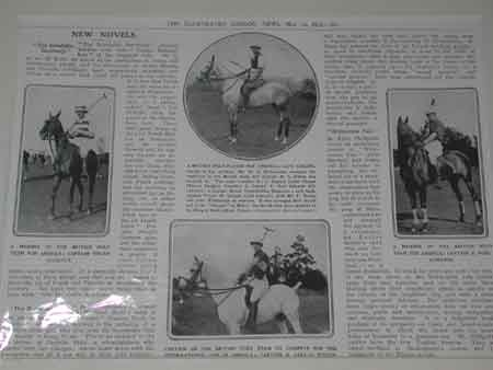 Illustrated London News 1913 Artcile about England versus America
