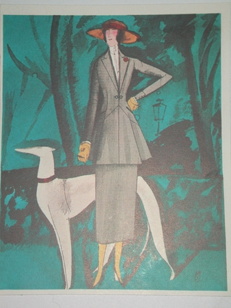 A suit from the Haut couture house of Beer May 1921 reproduction professionally mounted