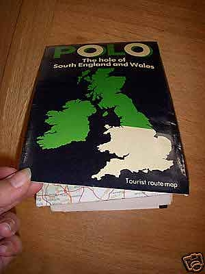 A polo map of the South of England and Wales 1979