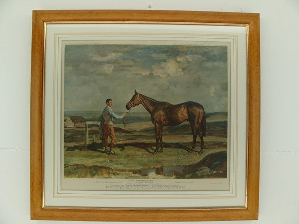 Antique Sir Alfred James Munnings P.R.A. ( 1878-1959.)