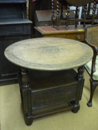 Antique Monks Chair