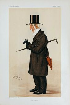 Antique Vanity Fair Prints,