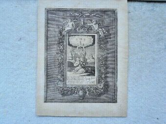 Antique Christian Friedrich Fritzsch 1719 - 1774