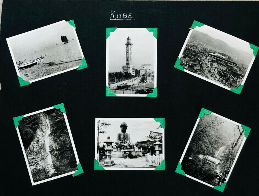View of Kobe, 6 Photographs, c.1930s