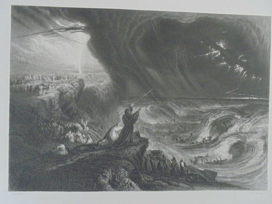 The Destruction of Pharaoh's host - John Martin
