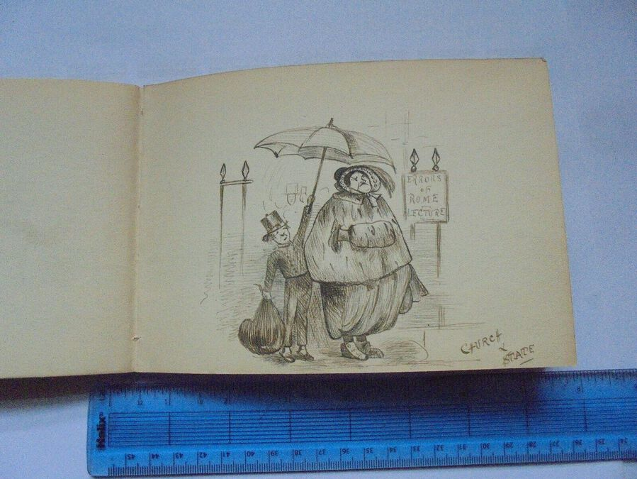 Antique Collection of caricatures