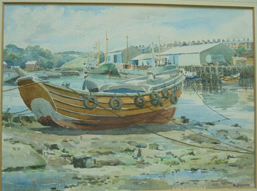 S.Jepson - 'Fishing Boat'
