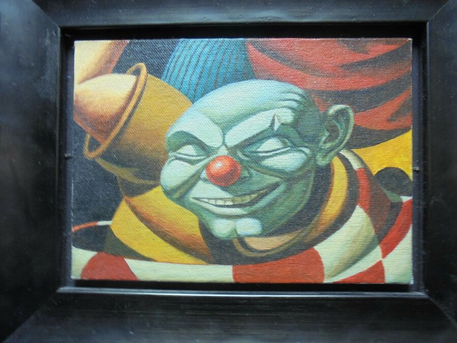 Artist: Richard Ennis (1958- ). Modern British. Grandfather Clown