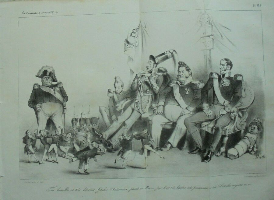 La Caricature (Journal)/(N°159) Pl. 332 (Panoramic)