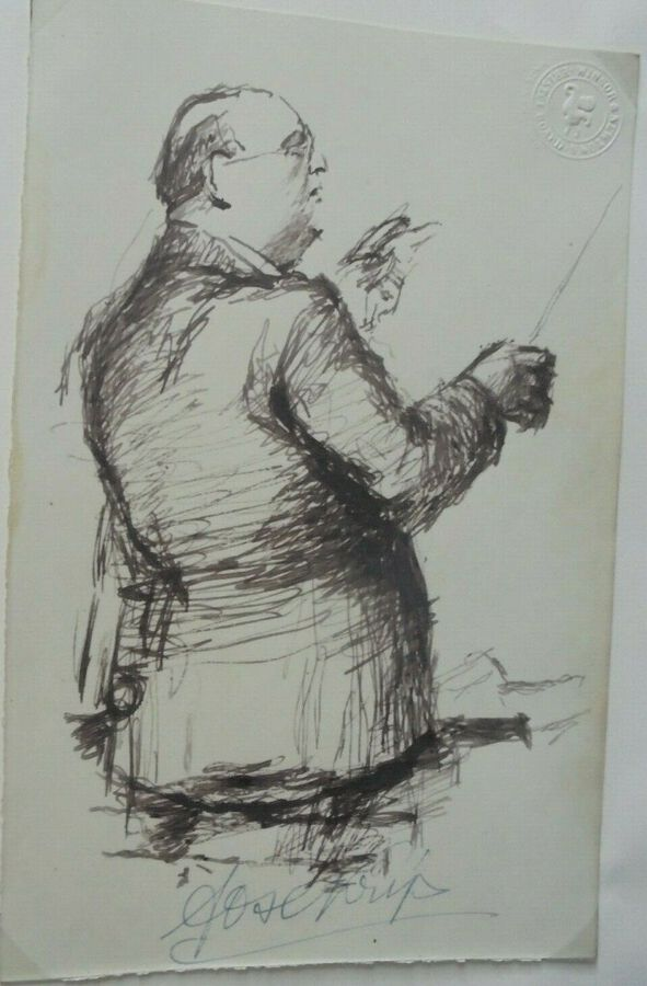 Drawing of a Conductor