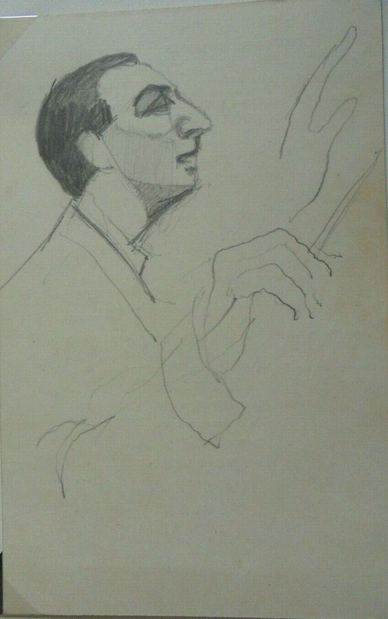 Gordon Tattersfield - Drawing of a Conductor