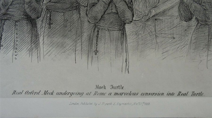 Antique Mock Turtle - Vicent Brooks Lith