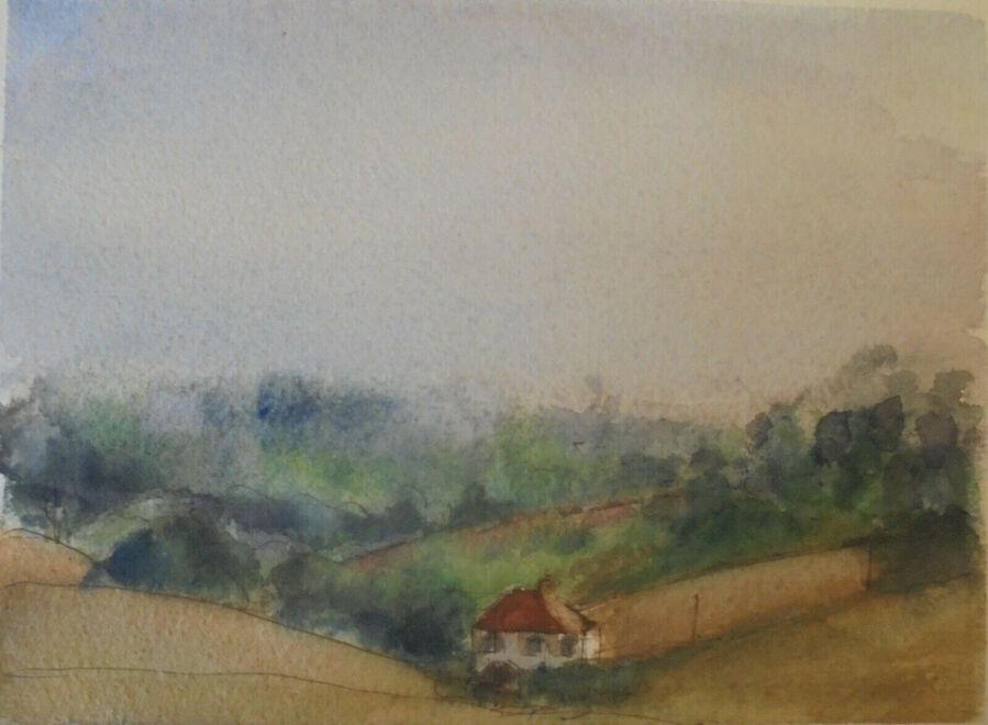 Vita Gollancz, British (1926-2009),  Watercolour