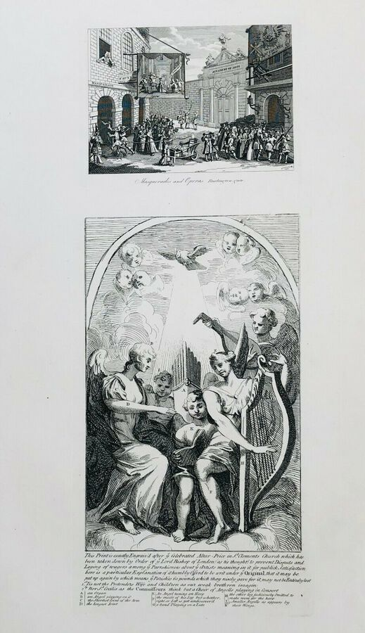 William Hogarth (1697-1764), Masquerades and Operas and Another