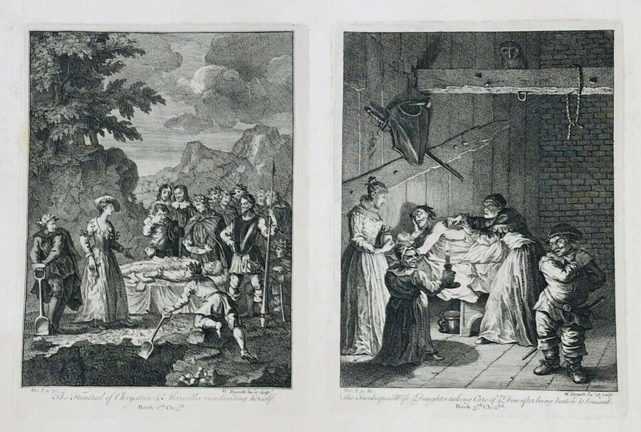 William Hogarth (1697-1764), Funeral of Chrystom and Another
